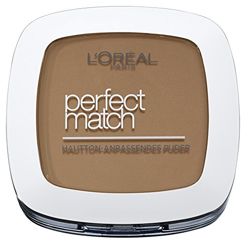 L'Oréal Paris Perfect Match Matterend poeder 9 g 7.D/7.W Golden Amber