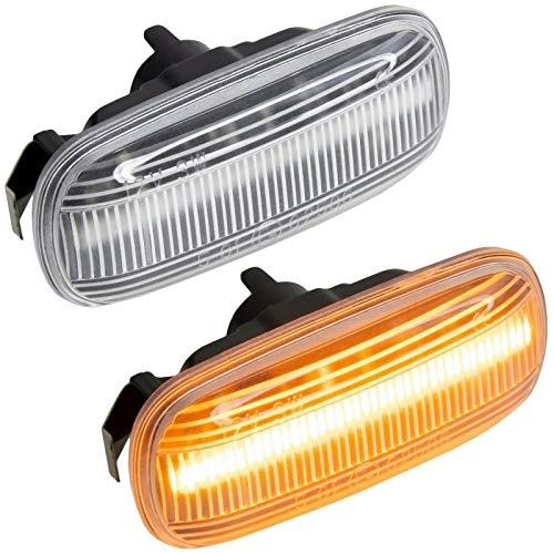 phil trade LED SEITENBLINKER kompatibel für A3 8P | A4 B6 B7 & Cabrio | A6 C6 4F | KLARGLAS |7315
