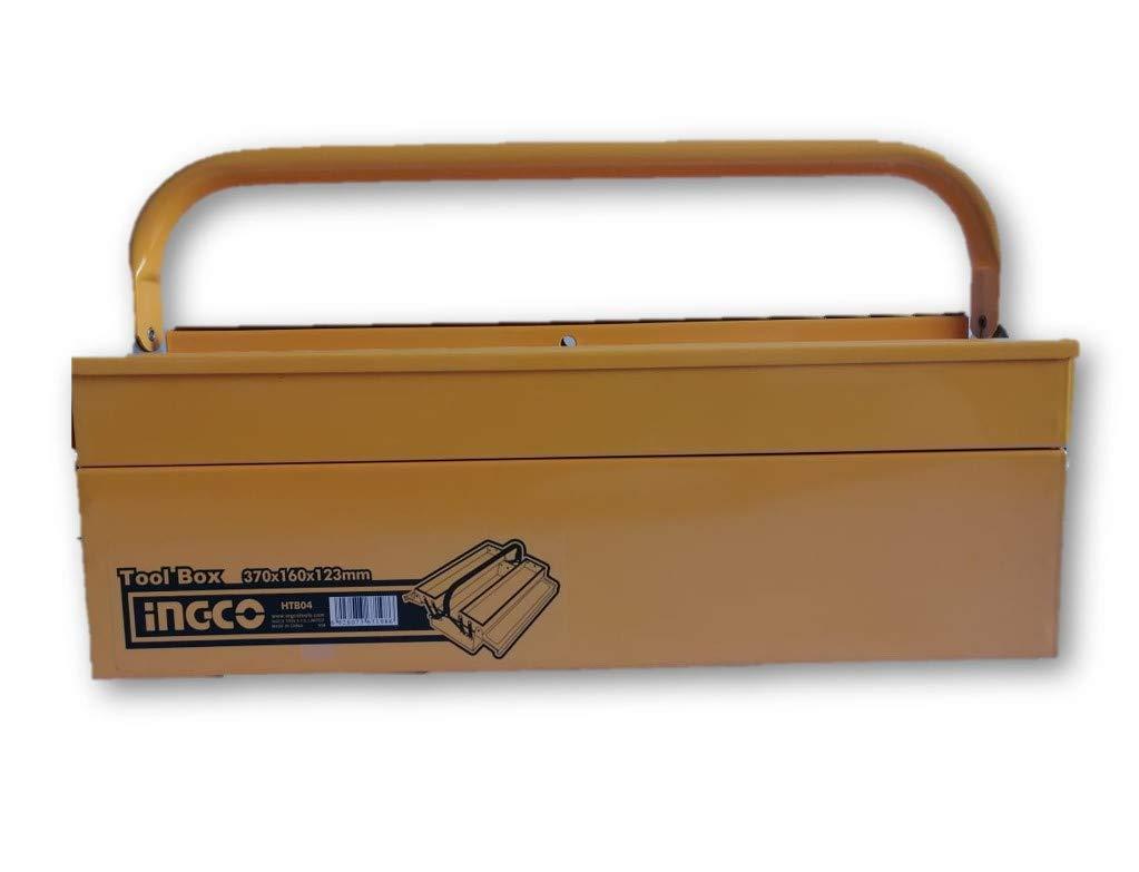Ingco - Caja Metalica Htb04: Amazon.es: Bricolaje y herramientas