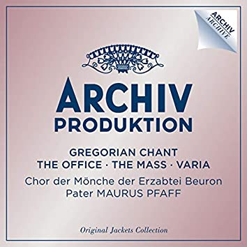 Gregorian Chant - The Office - The Mass - Varia