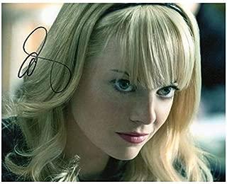 Photo Emma Stone Autograph Signed 8 x 10