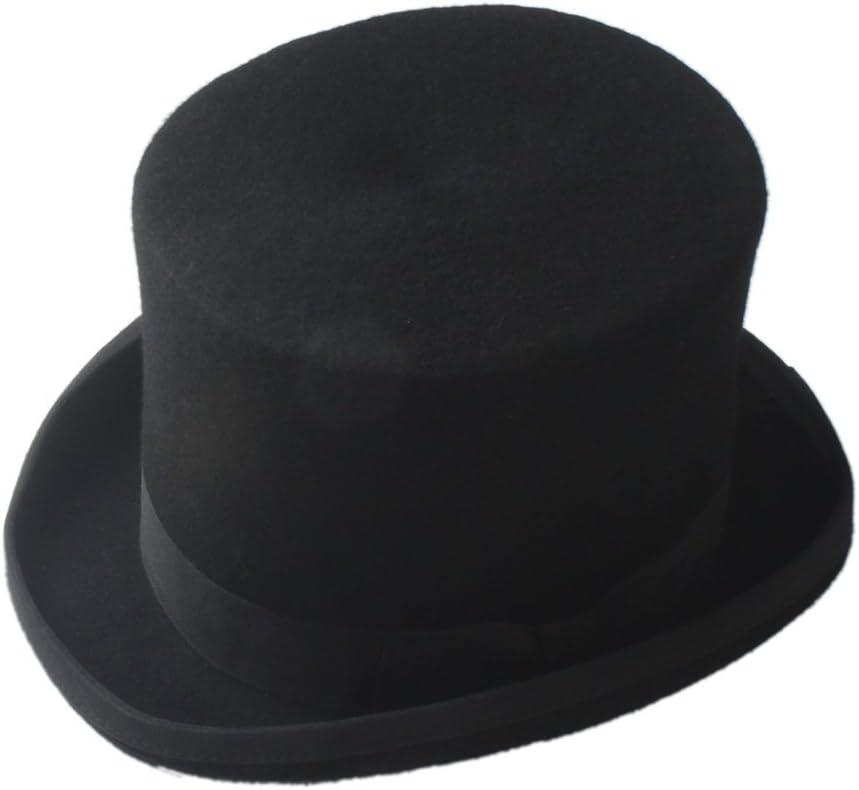 CHENJUNAMZ Black Steampunk Mad Outlet ☆ Free Trust Shipping Hatter Victorian Top Vintage Hat