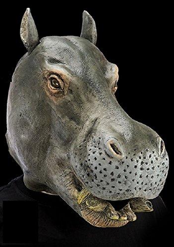 DC Masque d'Hippopotame - Adulte - Taille Unique - Halloween - Latex - 1076