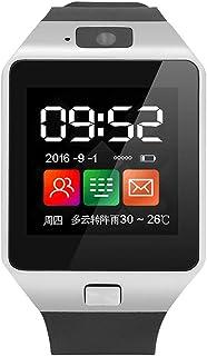 WHSN Pulsera Actividad Inteligente Tension Arterial, Reloj Inteligente para Personas De Edad Avanzada, Posicionamiento Móvil Información Push, Temporizador, para Android