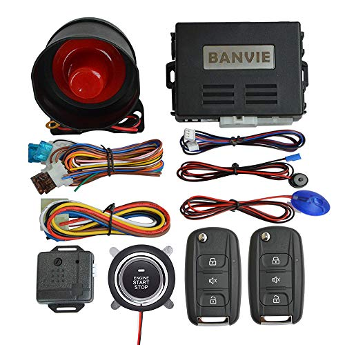 BANVIE Car Alarm System with Rem...