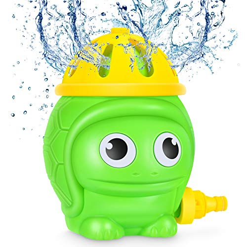 Magicfun Juguete de Agua para Niños, Tortuga Juguete de Rociador Outdoort Jardín Verano Juguetes para rociar Agua para Jardín, Exterior, Piscina, Niños & Niñas 3 años +