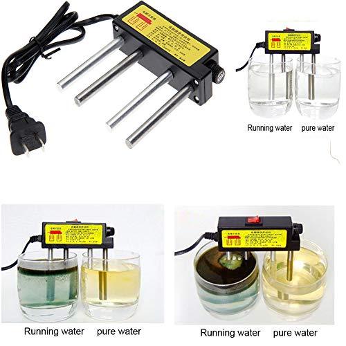 Alician Home Elektrolysator, schnelle Wasserqualitätsprüfung, Elektrolysegerät, TDS-Tester