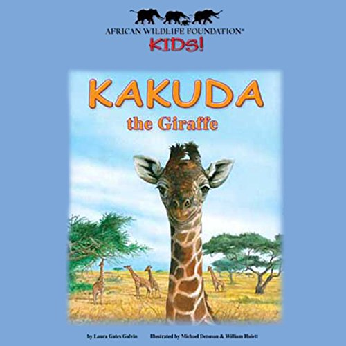 Kakuda the Giraffe audiobook cover art