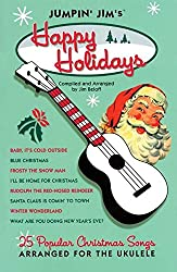 "Christmas ukulele book, ""Happy Holiday"""
