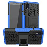 COMPATIBILITY : Fits only for Samsung Galaxy M01 Core HYBRID DEFENDER ARMOR PROTECTION: Rugged Dual layer design consisting of impact resistant polycarbonate outer shell and ballsitic shock absorbing inner silicone ensures solid protection to your de...
