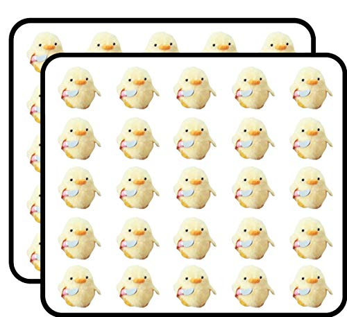 Chicken with a Knife Meme 50 Pack 1' Stickers for Scrapbooking, Calendars, Arts, Kids DIY Crafts, Album, Bullet Journals