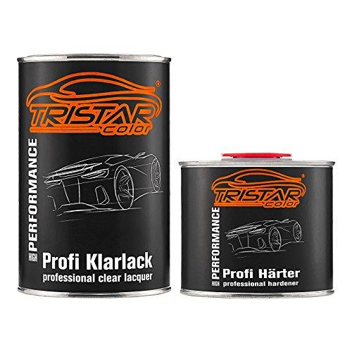 TRISTARcolor 1,5 Liter 2K Klarlack Autolack seidenmatt inkl. Härter