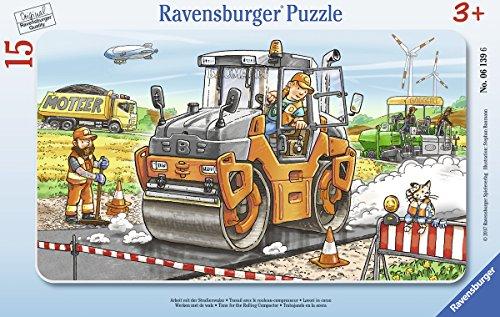 Ravensburger 06139 Arbeit mit der Straßenwalze