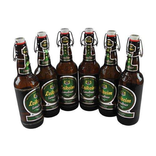 Leikeim Landbier (6 Flaschen à 0,5 l / 5,4% vol.)