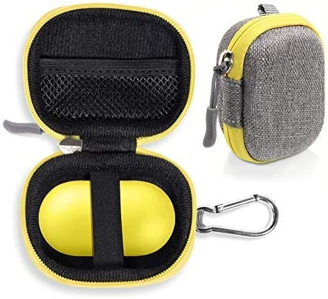 wholesale Tweed Gray Protective Case for Samsung outlet online sale Galaxy Buds Pro, Galaxy Buds 2, Galaxy Buds 1, Bluetooth True Wireless Earbuds Charging online case, mesh Accessory Pocket, Elastic Security Elastic Strap outlet online sale
