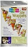 Yama Moto Yama Assorted Soy Wrapper Half Sheet - 10 Sheets Per Unit Gluten Free 0.74oz