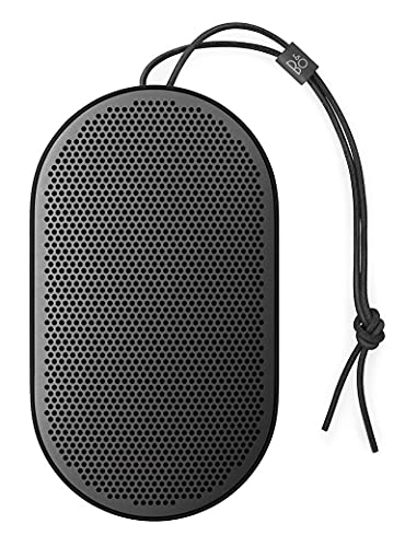 Bang und Olufsen Beoplay P2 Bluetooth-Lautsprecher (tragbar, mit integriertem Mikrofon) schwarz