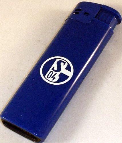 FC SCHALKE 04 Feuerzeug blau