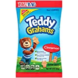 Teddy Grahams Cinnamon Graham Snacks, Big Bag, 3 Ounce (Pack of 12)