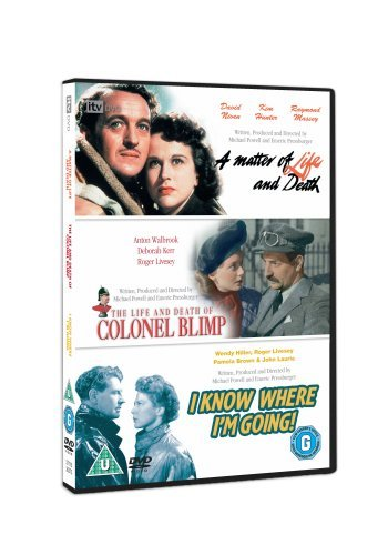 Classic Films Triple - The Life and Death of Colonel Blimp/A Matter of Life and Death/I Know Where I'm Going [3 DVDs] [UK Import]