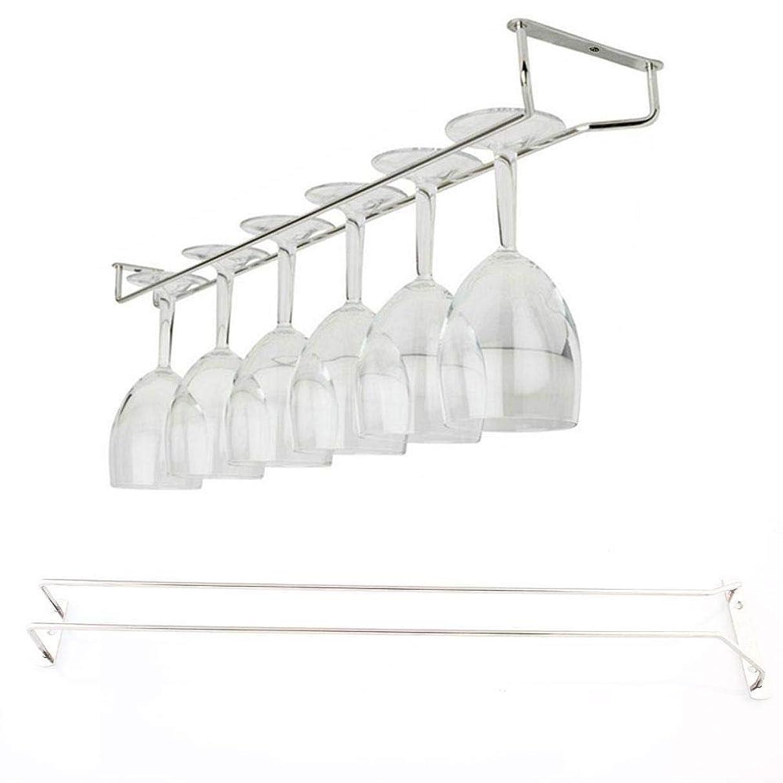 Bar Bar - 55cm 21 Quot Wine Glass Rack Under Cabinet Hanging Stemware Holder Hanger Shelf Bar - Decor Brushes Dryer Parent's Shelf Black Stools Sheep Hair Home Holder Accessories Book Guide Barrel
