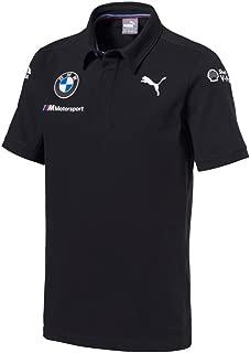 BMW Motorsports Dark Anthracite Gray 2018 Men's Team Polo Shirt