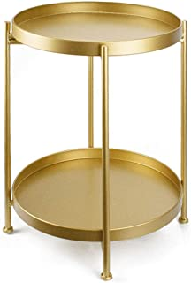 Best gold nightstand table Reviews