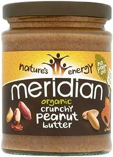 Meridian - Organic Peanut Butter Crunchy With Salt - 280g