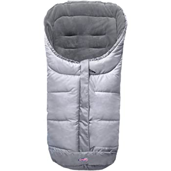 Cozy Warmer Baby Footmuff Fits for Most of Strollers, Jogger, Reversible from Blanket to Sleeping Bag, Strap Position Adjustable,Safe and Practical Featurs