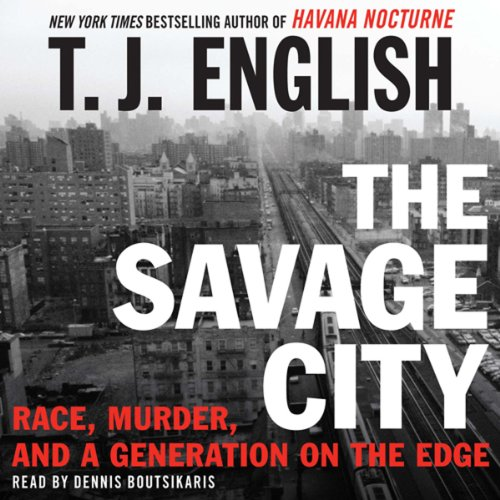 The Savage City audiobook cover art