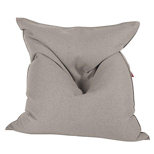 Lounge Pug®, Sitzsack Kinder XL, Interalli Wolle Silber