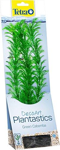 Tetra DecoArt Plantastics Green Cabomba L Réplica con aspecto natural de la planta acuática Cabomba verde