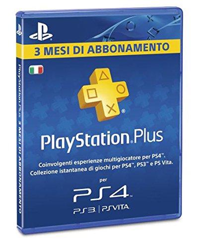 PlayStation Plus Card: Sottoscrizione 90 Giorni