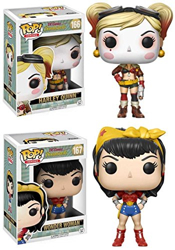 Funko POP! DC Bombshells: Harley Quinn + Wonder Woman