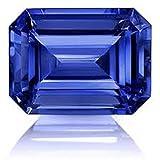 LMDLACHAMA Prajapatis Gems 8.25 Ratti Blue Sapphire Neelam Gemstone For Unisex