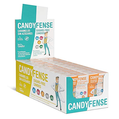 Cerdán Candyfense Caramelos de Propóleo sin Azúcar y Sabor Miel