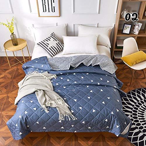 Antiallergisch,Sommerdecke für Doppelbett Einzelbett Bettdecke Decke Gitter Bettdecken Tagesdecke-200x230cm_02-aichao,daunendecke 220x240 warm