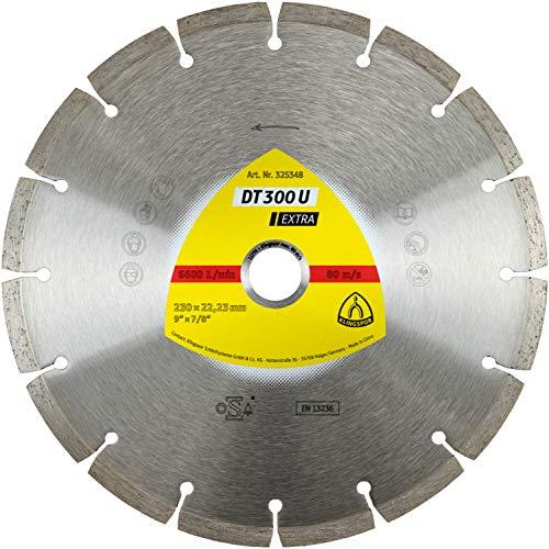 Klingspor 325350 Discos de Corte Diamantados para Tronzadoras Motorizadas/Sierras de Mesa, DT...