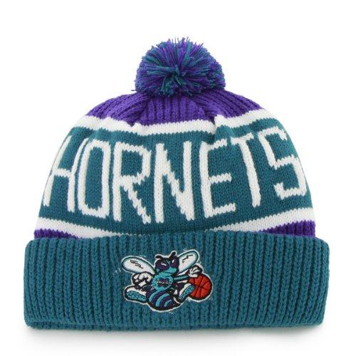47 Brand Calgary Cuff Beanie Hat POM POM - NBA Cuffed Knit Cap.   3b3ef6cb6824