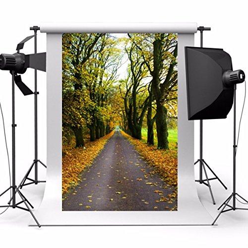 MOHOO Panno fotografico Effetti Realistici Panno di Sfondo Bellissimo Tema del Bosco Panno di Seta Impermeabili e Artistici
