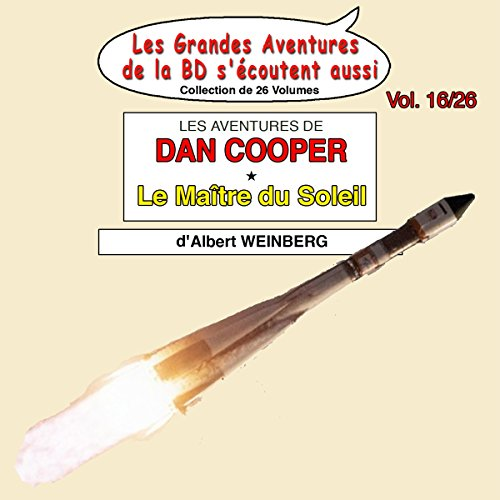 Couverture de Le Maître du Soleil (Les Aventures de Dan Cooper 2)