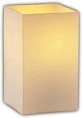 Justice Design Group Lighting FAB-8672-15-CREM-NCKL Textile - Montana 2-Light Bath Bar - Square with Flat Rim Shade - Cream, Brushed Nickel