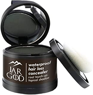 JARGOD Root Concealer Root Touch Up Hair Loss Concealer to Cover Up Roots and Grays (Dark Brown)