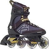 K2 Herren Inline Skate Seismic 80, schwarz/gelb, 10.5, 3020088.1.1.105