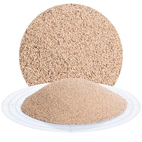 25 kg Nussschalengranulat Strahlmittel 450-800 µm von Schicker Mineral für eine schonende Oberflächenbehandlung