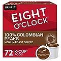 Eight O'Clock Coffee Colombian Peaks, Single-Serve Keurig K-Cup Pods