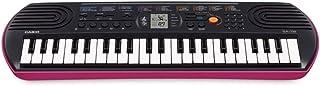 لوحة مفاتيح موسيقية مزودة بـ 44 مفتاح صغير و100 نغمة مدمجة من كاسيو موديل SA78H2