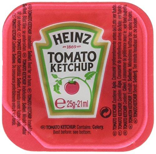 Heinz Tomato Ketchup Dip Pot - Confezione da 100 Pezzi