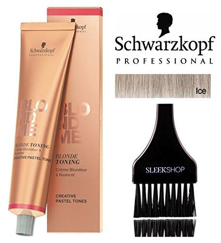 Schwarzkopf Professional Blond Me Blonde Toning (NEW VERSION - 2.1 oz); includes'Sleek Tint...