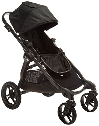 Baby Jogger City Select Stroller - 2016 | Baby Stroller with 16 Ways to Ride, Goes from Single to Double Stroller | Quick Fold Stroller, Black